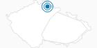 Skigebiet Rokytnice nad Jizerou Tschechisches Riesengebirge: Position auf der Karte
