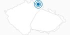 Ski Resort Mala Upa Czech Krkonose Mountains: Position on map
