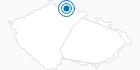 Skigebiet Tanvaldsky Spicak Isergebirge: Position auf der Karte