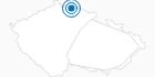 Skigebiet Bedrichov Isergebirge: Position auf der Karte