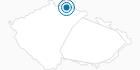 Ski Resort Josefuv Dul Jiserske Hory: Position on map