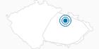 Skigebiet Cenkovice Adlergebirge: Position auf der Karte