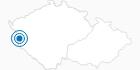 Skigebiet Primda Pfraumberg im Nationalpark Böhmerwald: Position auf der Karte
