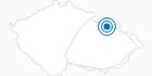 Ski Resort Ostruzna Hruby Jesenik: Position on map