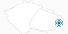 Skigebiet Synot Kycerka Tschechische Karpaten: Position auf der Karte