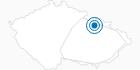 Skigebiet Ski Sneznik Dolni Morava Altvatergebirge: Position auf der Karte