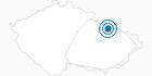 Ski Resort Ski areal Premyslov Hruby Jesenik: Position on map