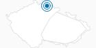 Ski Resort U Capa Prichovice Jiserske Hory: Position on map