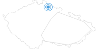 Skigebiet Vetrov - Vysoke nad Jizerou Tschechisches Riesengebirge: Position auf der Karte