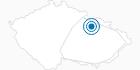 Skigebiet Ceske Petrovice Adlergebirge: Position auf der Karte