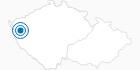 Skigebiet Marianske Lazne Erzgebirge Krusne hory: Position auf der Karte