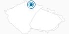 Ski Resort Obri sud Javornik Czech Krkonose Mountains: Position on map