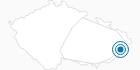 Skigebiet Skicentrum Kohutka Tschechische Karpaten: Position auf der Karte