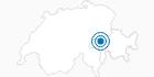 Skigebiet Obersaxen Mundaun Val Lumnezia in Surselva: Position auf der Karte