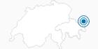 Skigebiet Samnaun (Silvretta Arena) in Scuol Samnaun Val Müstair: Position auf der Karte