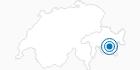 Skigebiet St. Moritz - Corviglia in Engadin St. Moritz: Position auf der Karte