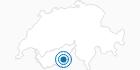 Skigebiet Saas-Grund Hohsaas im Saastal: Position auf der Karte