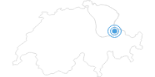 Ski Resort Pizol in the Heidiland : Position on map