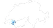Skigebiet Morgins - Portes du Soleil in Portes du Soleil - Chablais: Position auf der Karte