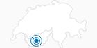 Skigebiet Evolene Val d'Herens: Position auf der Karte