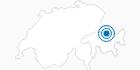 Skigebiet Fideriser Heuberge im Prättigau: Position auf der Karte