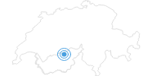 Skigebiet Lötschental – Lauchernalp im Lötschental: Position auf der Karte