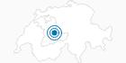 Skigebiet Snowpark Eriz im Schweizer Mittelland: Position auf der Karte