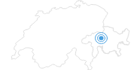 Skigebiet Sarn Heinzenberg in Viamala: Position auf der Karte