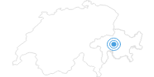 Skigebiet Mutten in Savognin Bivio Albula: Position auf der Karte