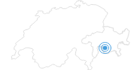 Ski Resort Avers in Viamala: Position on map