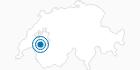 Skigebiet Rathvel in Fribourg: Position auf der Karte