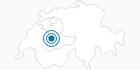 Skigebiet Gantrisch Gurnigel in Bern: Position auf der Karte