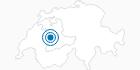 Skigebiet Rüschegg Eywald im Naturpark Gantrisch: Position auf der Karte