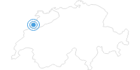 Skigebiet La Chaux de Fonds in Neuenburg: Position auf der Karte