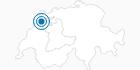 Skigebiet Les Breuleux in Biel/Bienne Seeland: Position auf der Karte