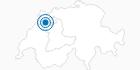 Skigebiet Les Prés-d'Orvin in Bern: Position auf der Karte