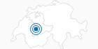 Skigebiet Rossberg Oberwil in Lenk-Simmental: Position auf der Karte