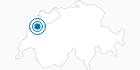 Ski Resort La Vue des Alpes Tete de Ran in Neuchatel: Position on map