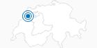 Skigebiet Saint Imier Mont Soleil in Bern: Position auf der Karte