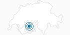 Skigebiet Jeizinen Feselalpe in Leukerbad: Position auf der Karte