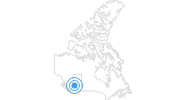 Ski Resort Jasper – Marmot Basin in the Canadian Rockies: Position on map