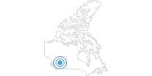 Skigebiet Nitehawk Ski Hill in den Canadian Rockies: Position auf der Karte