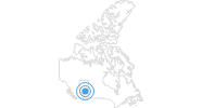 Ski Resort Snow Valley Alberta in Edmonton: Position on map