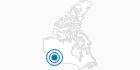 Skigebiet Powder King in Nord-British Columbia: Position auf der Karte