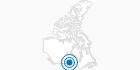 Ski Resort Springhill Winter Sports Park in the Interlake Region: Position on map