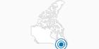 Skigebiet Mont Farlagne in Südost-New Brunswick: Position auf der Karte