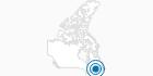 Skigebiet Sugarloaf Provincial Park in Südost-New Brunswick: Position auf der Karte