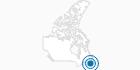 Skigebiet Ski Ben Eoin auf Cape Breton Island: Position auf der Karte