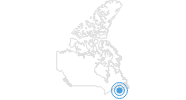 Ski Resort Ski Martock at Nova Scotia's South Shore: Position on map
