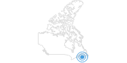 Skigebiet Ski Wentworth an Nova Scotias Südküste: Position auf der Karte